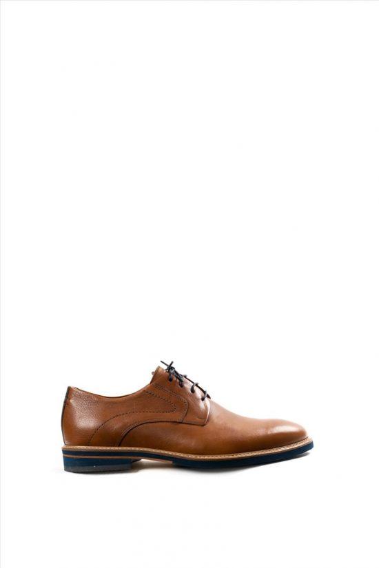 Ανδρικά Δερμάτινα Δετά Παπούτσια DAMIANI 20-07-1052 ΤΑΜΠΑ
