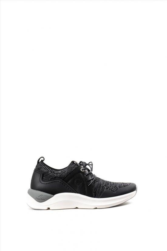 Γυναικεία Sneakers FLUCHOS ATOM F0876 ΜΑΥΡΟ