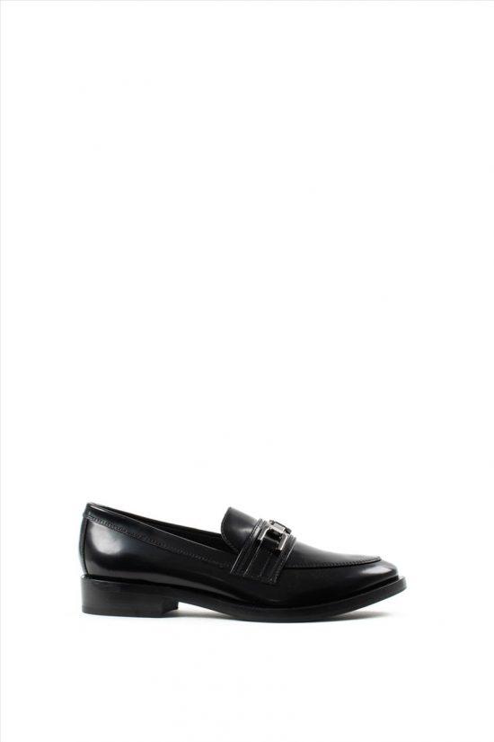 Γυναικεία Δερμάτινα Loafers GEOX BROGUE D942UD 00038 C7005
