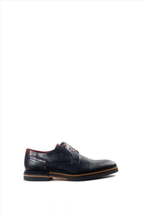 Ανδρικά Δερμάτινα Δετά Παπούτσια FLUCHOS HABANA F0532 ΜΠΛΕ