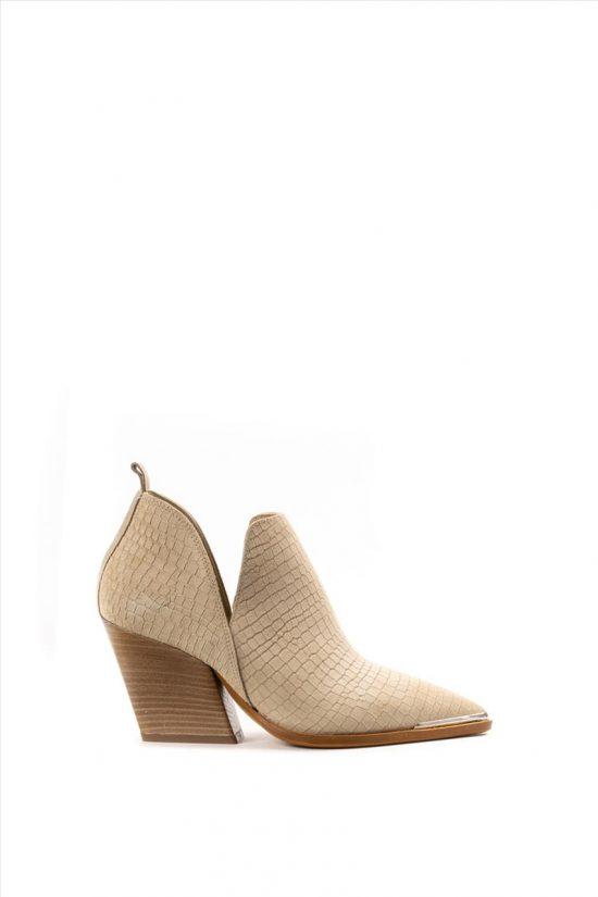 Γυναικεία Ankle Boots SANTE 20-102 ΜΠΕΖ