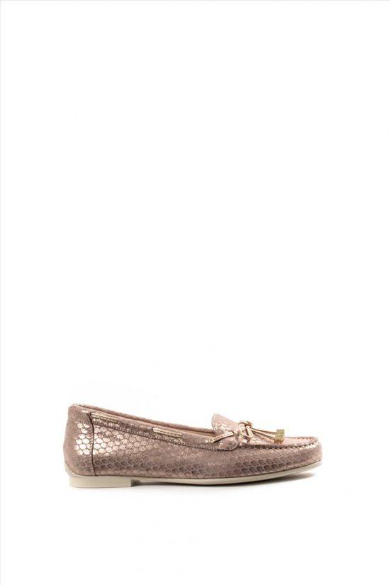 Γυναικεία Δερμάτινα Loafers 210801 11F