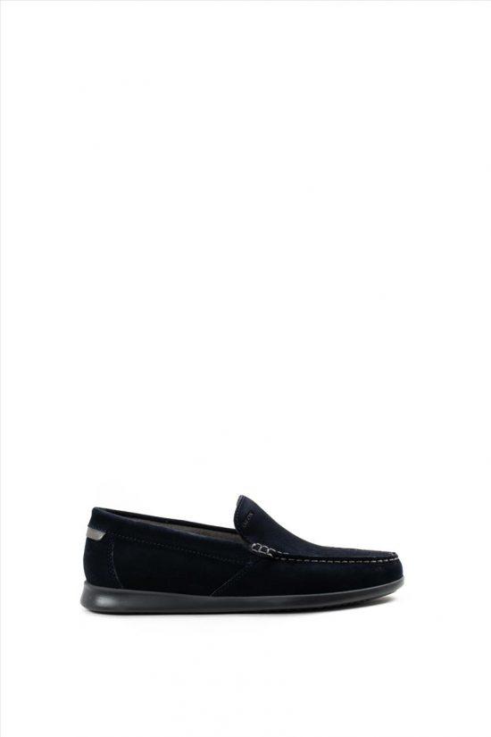 Ανδρικά Δερμάτινα Loafers GEOX - SILE U028UA 00022 C4002