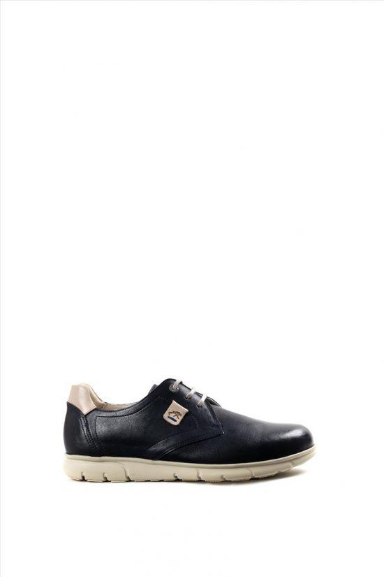 Ανδρικά Δερμάτινα Casual Shoes FLUCHOS SAMUN F0849 NAVY