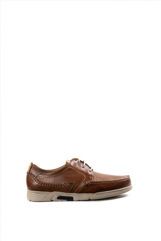 Ανδρικά Δερμάτινα Casual Shoes FLUCHOS HABANA F0435 ΤΑΜΠΑ