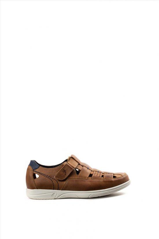 Ανδρικά Δερμάτινα Casual Shoes FLUCHOS SURF CUERO F0105 ΤΑΜΠΑ
