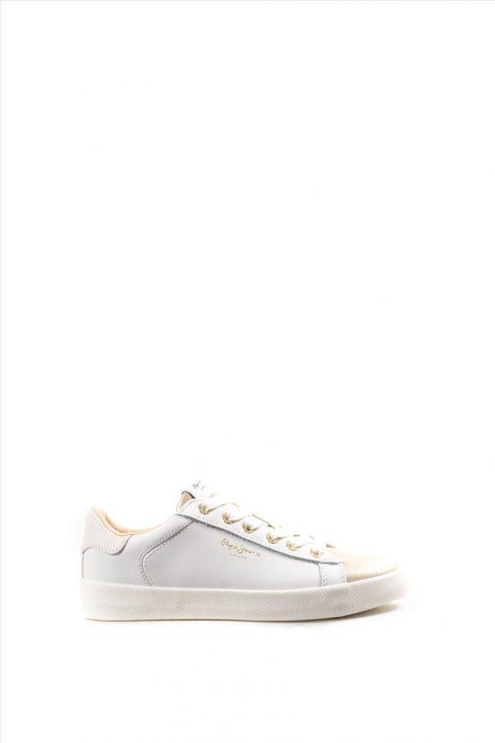 Γυναικεία Δερμάτινα Sneakers PEPE JEANS PJ0SHPLS309580 GOLD