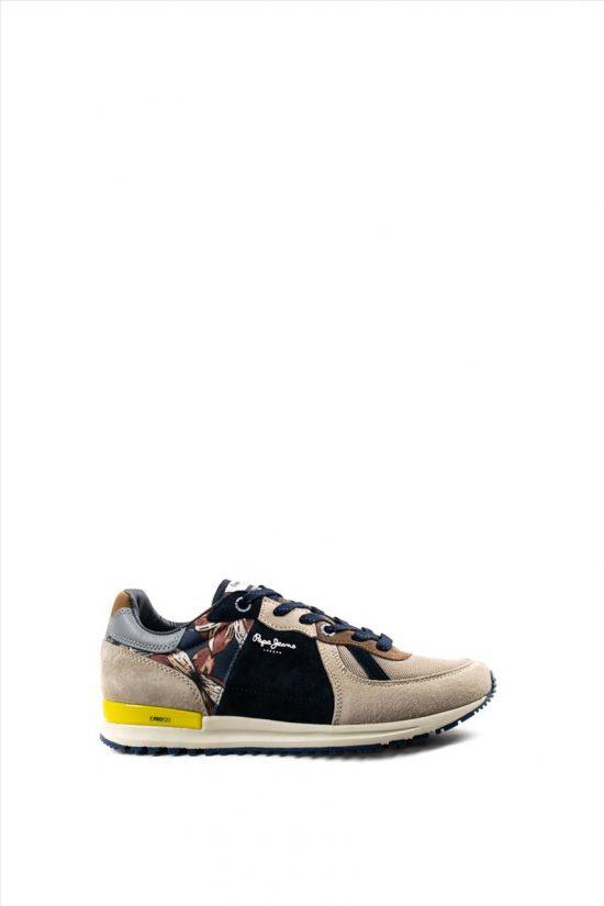 Ανδρικά Δερμάτινα Sneakers PEPE JEANS PJ0SHPMS306180 MULTI