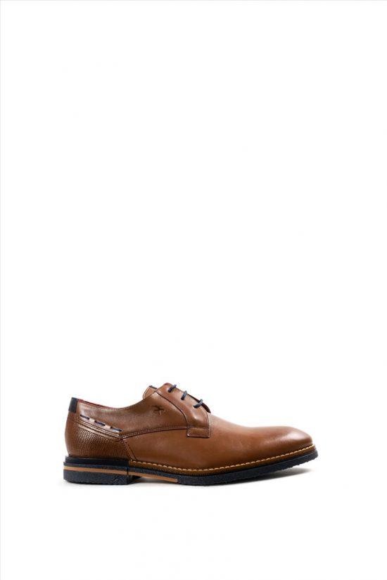 Ανδρικά Δερμάτινα Δετά Παπούτσια FLUCHOS HABANA F0526 ΤΑΜΠΑ