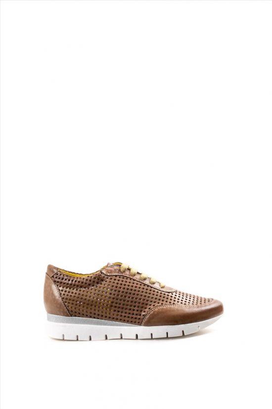 Γυναικεία Δερμάτινα Casual Shoes CHACAL 5063 ΤΑΜΠΑ