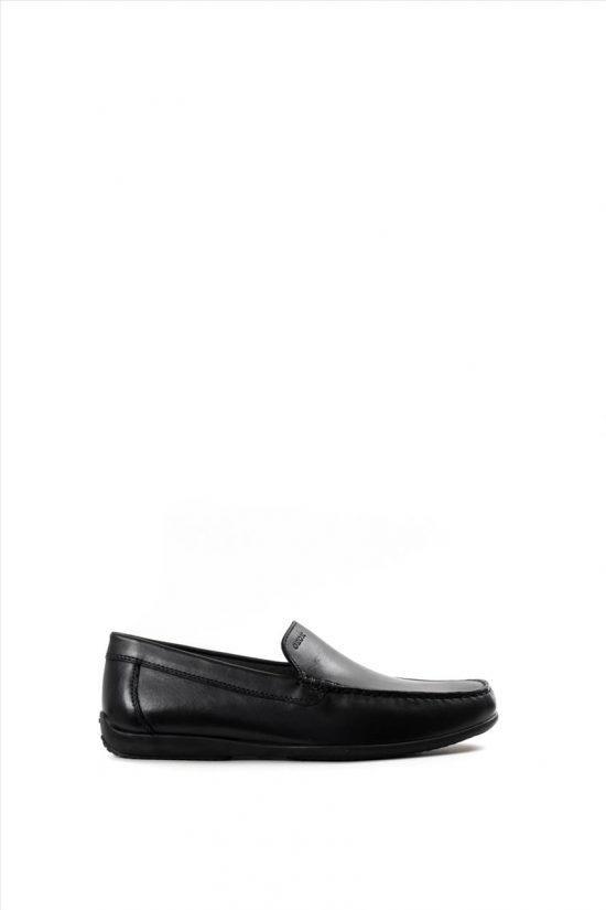 Ανδρικά Δερμάτινα Loafers GEOX - ASCANIO U020WA 00043 C9999