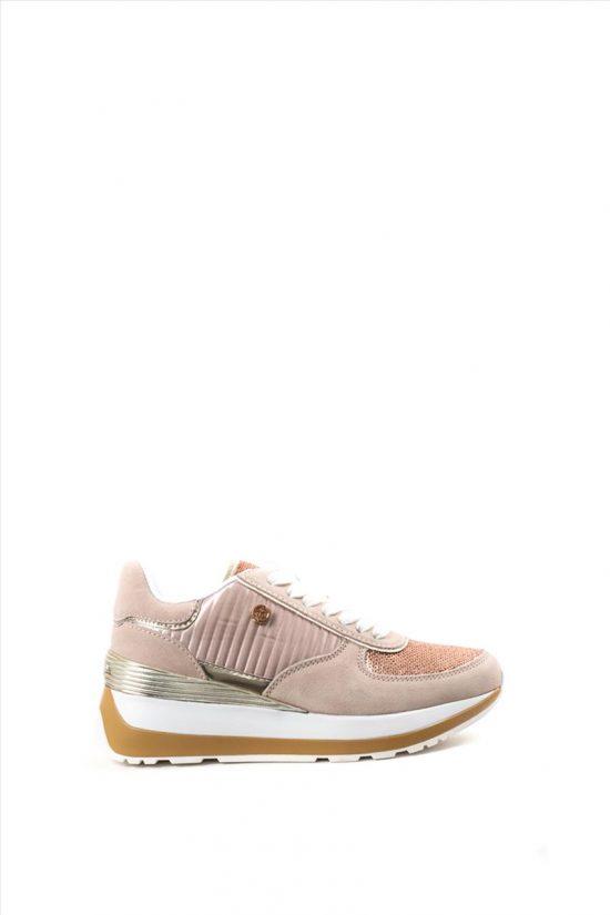 Γυναικεία Sneakers U.S. POLO ASSN VALERY3 PAILLETTES NUDE