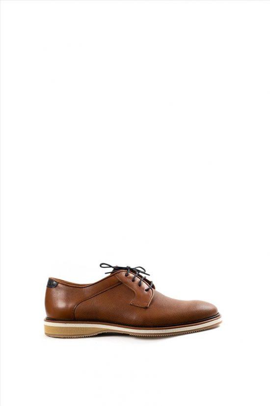 Ανδρικά Δερμάτινα Δετά Παπούτσια DAMIANI 20-07-2302 ΤΑΜΠΑ