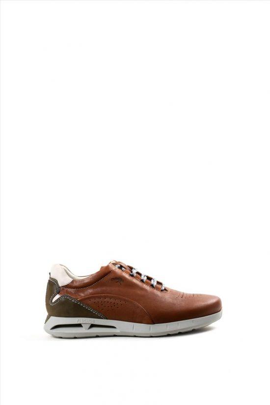 Ανδρικά Δερμάτινα Casual Shoes FLUCHOS SAMUN F0556 ΤΑΜΠΑ