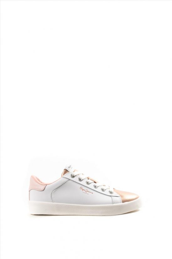 Γυναικεία Δερμάτινα Sneakers PEPE JEANS PLS 309580 NUDE