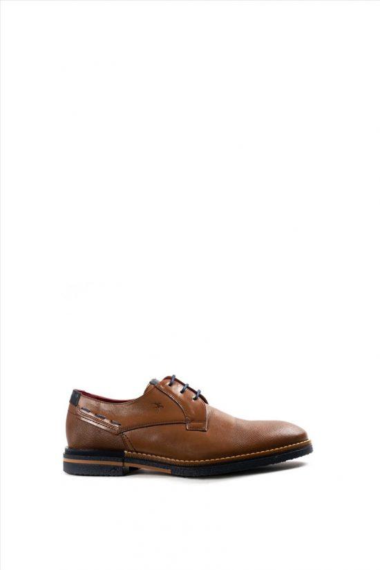 Ανδρικά Δερμάτινα Δετά Παπούτσια FLUCHOS HABANA F0532 ΤΑΜΠΑ