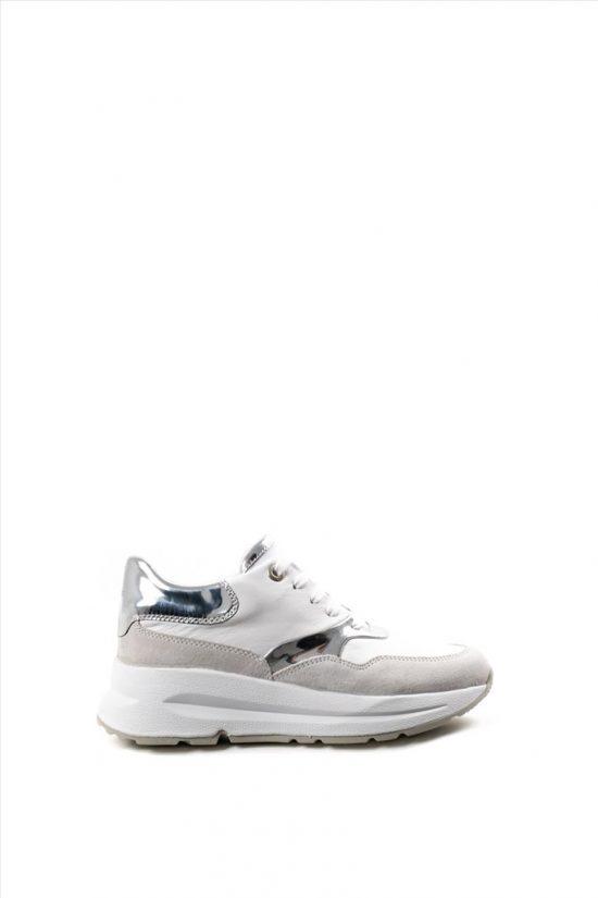 Γυναικεία Δερμάτινα Sneakers GEOX BACKSIE D02FLC 085BN C0007