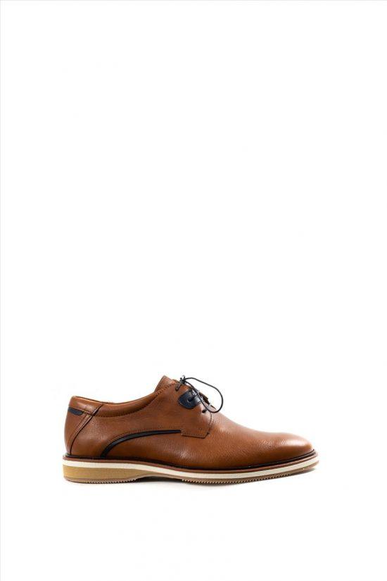 Ανδρικά Δερμάτινα Δετά Παπούτσια DAMIANI 20-07-2301 ΤΑΜΠΑ
