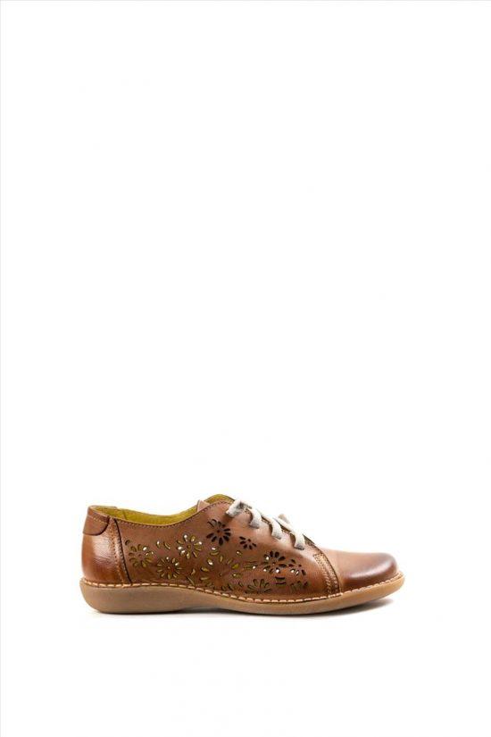 Γυναικεία Δερμάτινα Casual Shoes CHACAL 5006 ΤΑΜΠΑ