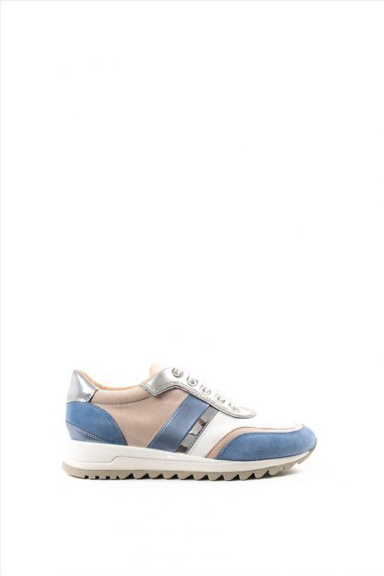 Γυναικεία Δερμάτινα Sneakers GEOX TABELYA D02AQA 02211 C0004