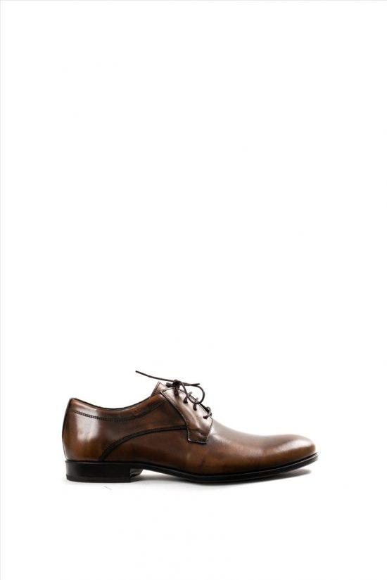 Ανδρικά Δερμάτινα Δετά Παπούτσια DAMIANI 20-07-1197 ΤΑΜΠΑ