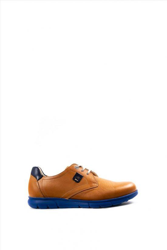 Ανδρικά Δερμάτινα Casual Shoes FLUCHOS SAMUN F0849 CAMEL