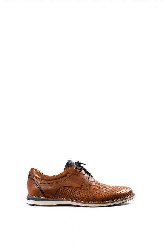 Ανδρικά Δερμάτινα Δετά Παπούτσια DAMIANI 20-07-2101 ΤΑΜΠΑ