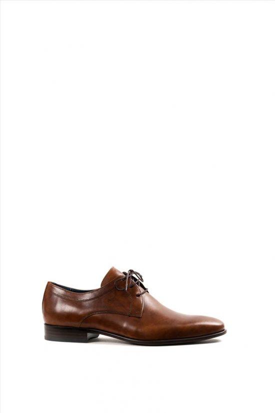 Ανδρικά Δερμάτινα Δετά Παπούτσια DAMIANI 20-07-1105 ΤΑΜΠΑ