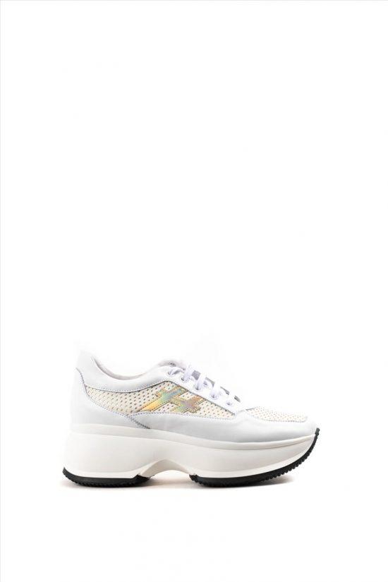 Γυναικεία Sneakers ZAKRO COLLECTION ΣΧ.1 Δ ΛΕΥΚΟ