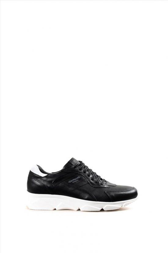 Ανδρικά Casual Shoes DAMIANI 20-01-2400 ΜΑΥΡΟ