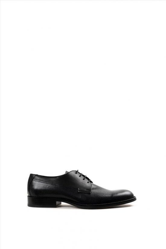Ανδρικά Δερμάτινα Παπούτσια ZAKRO COLLECTION 106 BLACK
