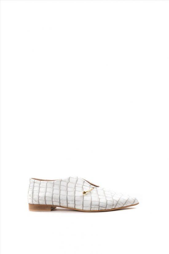 Γυναικεία Casual Shoes ZAKRO COLLECTION ΣΧ.33 Σ ΛΕΥΚΟ