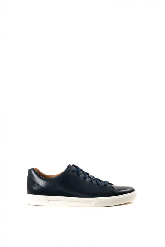 Ανδρικά Δερμάτινα Casual Shoes CLARKS UN COSTA LACE NAVY