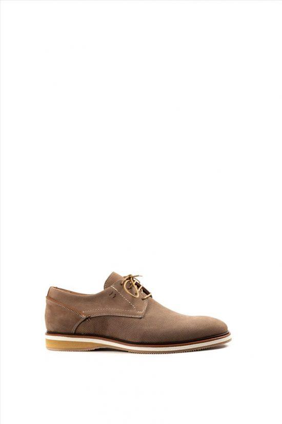 Ανδρικά Δερμάτινα Δετά Παπούτσια DAMIANI 20-06-2300 ΠΟΥΡΟ