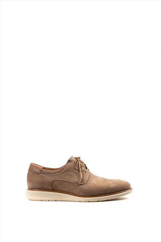 Ανδρικά Δερμάτινα Δετά Παπούτσια DAMIANI 20-06-2200 ΠΟΥΡΟ