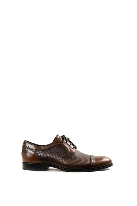Ανδρικά Δερμάτινα Δετά Παπούτσια DAMIANI 20-07-1198 ΤΑΜΠΑ