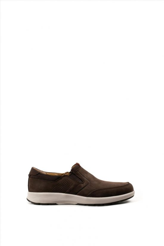 Ανδρικά Δερμάτινα Casual Shoes CLARKS UN TRAIL STEP BROWN