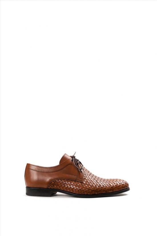 Ανδρικά Δεμάτινα Δετά Παπούτσια DAMIANI 20-07-1201