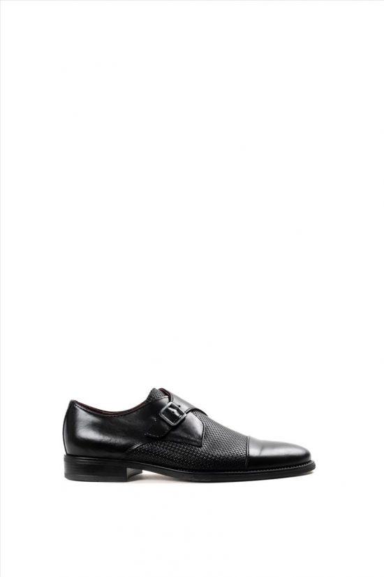 Ανδρικά Δερμάτινα Παπούτσια ZAKRO COLLECTION 1210 ΜΑΥΡΟ