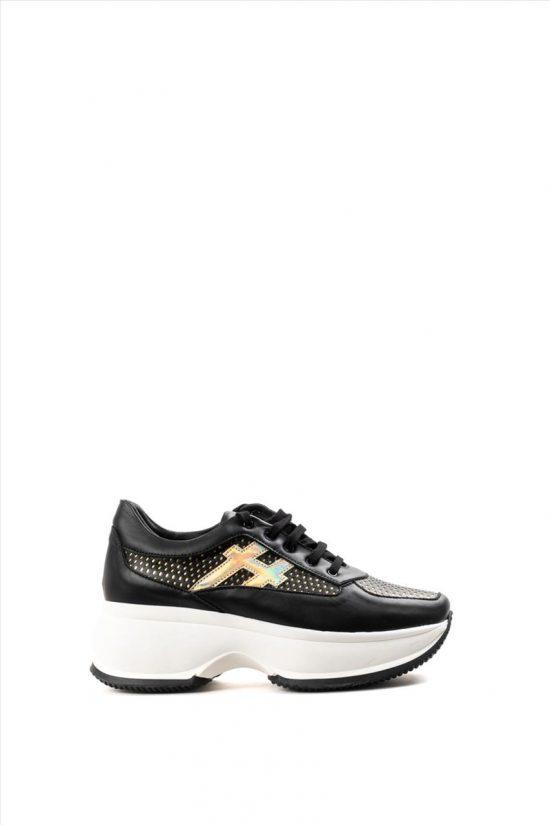 Γυναικεία Casual Shoes ZAKRO COLLECTION ΣΧ.9 Δ ΜΑΥΡΟ