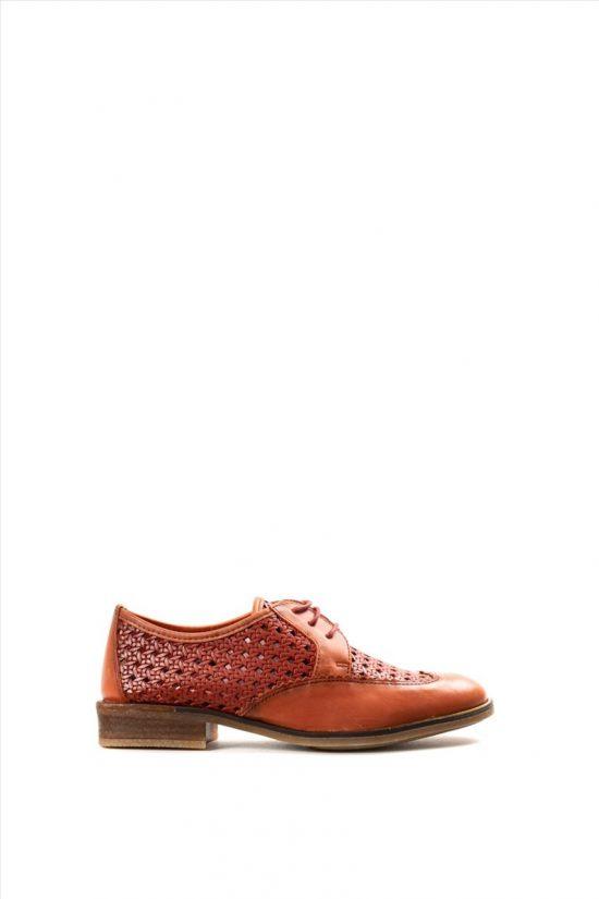 Γυναικεία Δερμάτινα Casual Shoes HISPANITAS HV00015 LIVERPOOL V20 ARCILLA