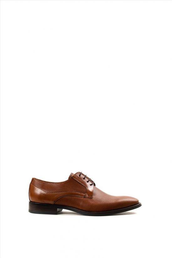 Ανδρικά Δερμάτινα Δετά Παπούτσια ZAKRO COLLECTION 4183 TAMPA RAFI