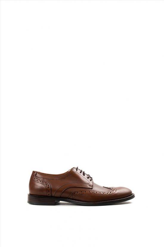 Ανδρικά Δερμάτινα Δετά Παπούτσια ZAKRO COLLECTION 2091 023