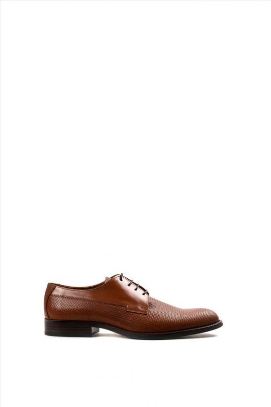 Ανδρικά Δερμάτινα Δετά Παπούτσια ZAKRO COLLECTION 106 TAMPA FORATO