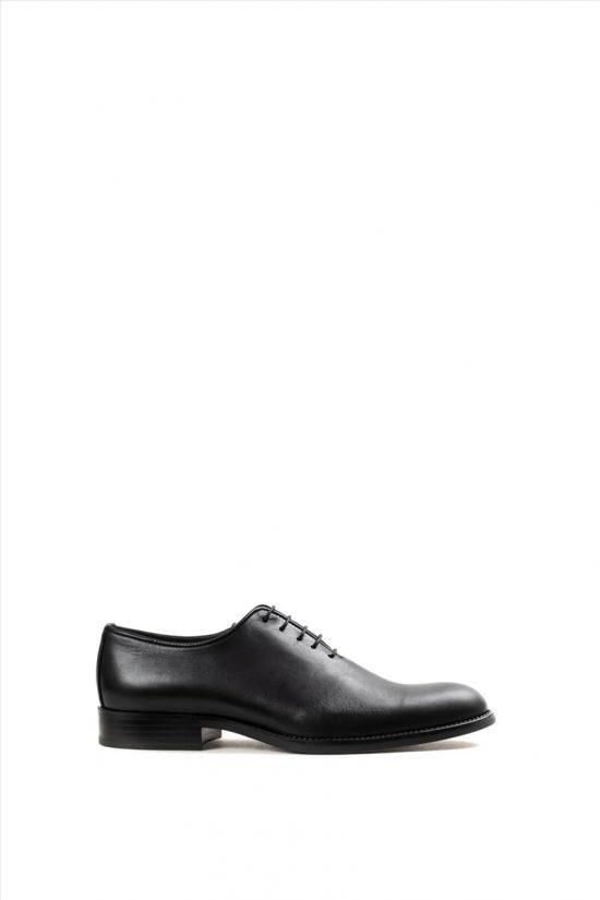 Ανδρικά Δερμάτινα Δετά Παπούτσια ZAKRO COLLECTION 3043 BLACK