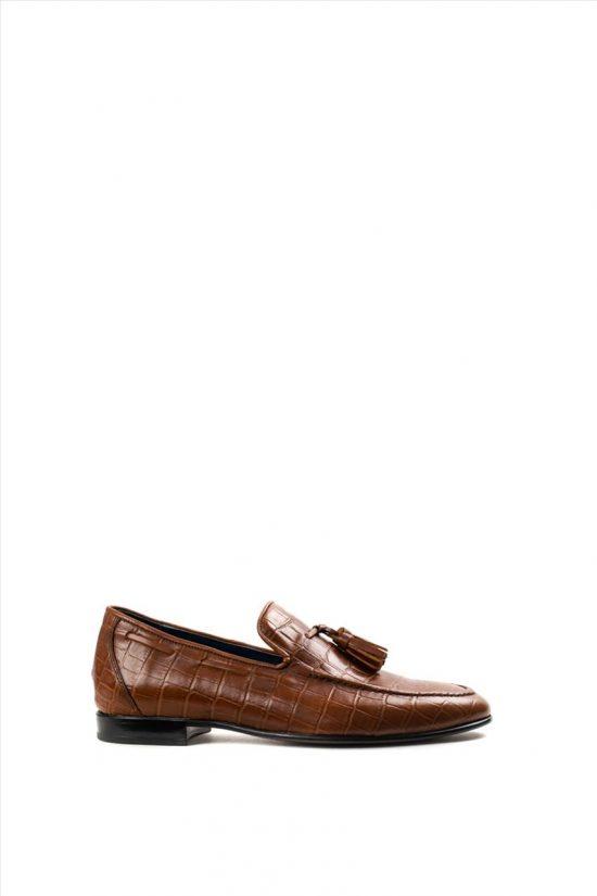 Ανδρικά Δερμάτινα Παπούτσια DAMIANI 20-07-2002
