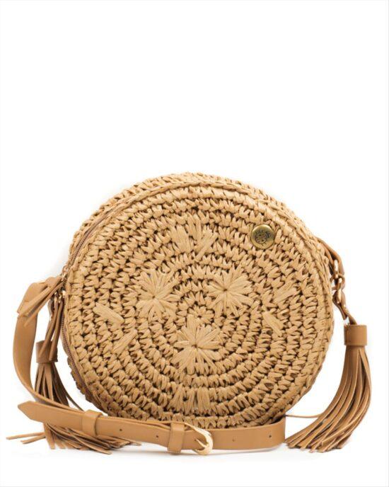 Ψάθινη Τσάντα Yokono B-Zumba-001 Bolso Natural