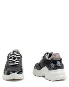 Pepe Jeans Eccles Croco PLS31224 999 Black