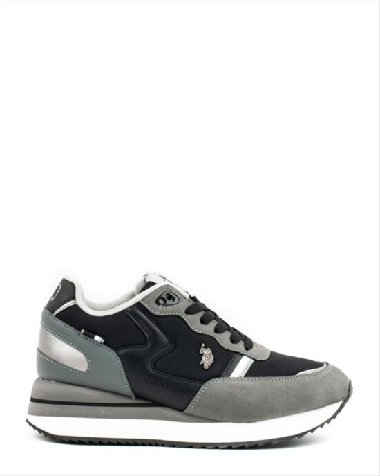 U.S. POLO ASSN. SYLVI001 Grey-Black