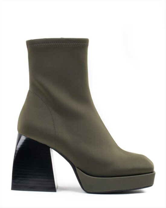 JEFFREY CAMPBELL DAUPHIN-LO BOOTS 0101003353 GREEN